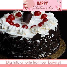 14 Romantic Ways to celebrate Valentine's Day at Home - Buehler's Fresh Foods Bakery Cakes, Cake Decorating, Valentines Day, Birthday Cake, Romantic, Foods, Fresh, Baking, Desserts