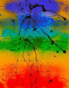 Wayne Marto. Abstract art Chakras - Rainbow Bridge - $100