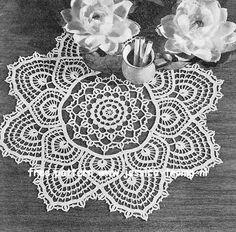 Vintage Doily Pattern | Fandango doily free vintage crochet doilies patterns                                                                                                                                                                                 More
