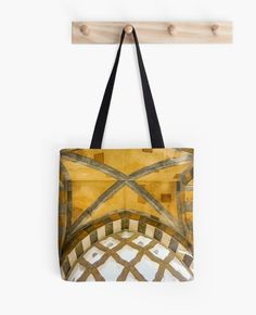 The Golden Arches of the Amalfi Cathedral in Amalfi, Italy Tote Bag #tote #bag #art #decor #architecture #Amalfi #Italy by Jacqueline Cooper- This image of Looking up at the ceiling in the entrance of the Amalfi Cathedral on the Amalfi Coast in Italy is an architectural dream. This image can be purchased as a print and on many great products. Just click on the visit link. For more inspirational images and mindful reads visit myaspiringsoulfullife.com.