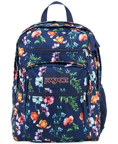 """Stow your school gear and carry a bit of the outdoors everywhere you go with this spacious student backpack from Jansport. 