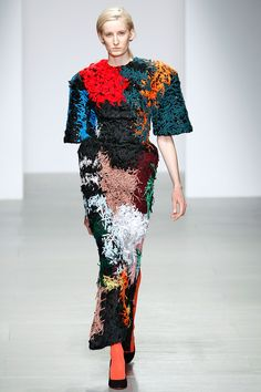 Central Saint Martins MA #LFW #LondonFashionWeek
