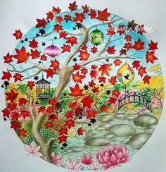Cute Little Pond Elerifowlerillustrator Elerifowler Joyousbloom Joyousbloomstocolor Jardinsecret Secretgarden