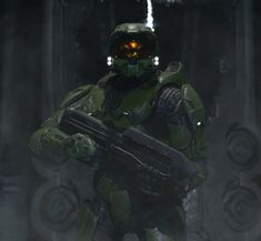 Halo 3 Master Chief, Halo 4 Setting by TelemusCNT