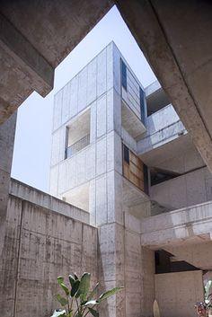 Salk Institute. La Jolla, California. 1962. Louis Kahn.