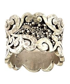 Lois Hill Swirled Cuff Ring - Max and Chloe