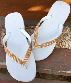 82 Best Crystal Wedding Flip Flops By Glass Slippers Bridal images ...