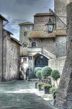Borgo medievale ~ Village Burgh of Viterbo, Province of Viterbo, Lazio region, Italia Places Around The World, The Places Youll Go, Places To See, Around The Worlds, Siena Toscana, Medieval Village, Medieval Castle, Visit Italy, Lucca