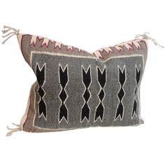Navajo Indian Weaving Pillow