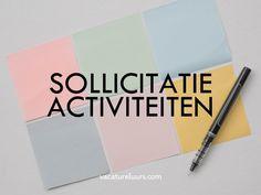 sollicitatieactiviteiten - welke gelden voor je sollicitatieplicht en hoe kun je ze het beste uitvoeren? Job Search, Curriculum, Notebook, Concept, Business, Om, Resume, Teaching Plan, Store