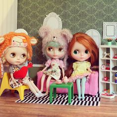 .@akka_blythe | the size of IKEA miniature just fits blythe dolls #blythe #doll #dollhouse #l... | Webstagram - the best Instagram viewer
