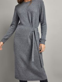 Women´s Cashmere at Massimo Dutti online. Enter now and view our spring summer 2017 Cashmere collection. Floryday Vestidos, Fashion Vestidos, Fashion Dresses, Cute Dresses, Casual Dresses, Dance Dresses, Cashmere Dress, Mode Chic, Mode Hijab