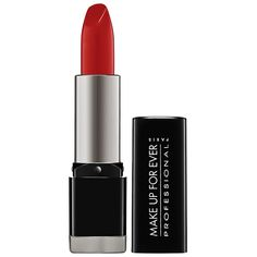 Virgo Product Pick: fill lips with MAKE UP FOR EVER Rouge Artist Intense lipstick #45 #Sephora #zodiacbeauty