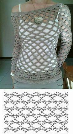 Crochet Ariane Cardigan Free P