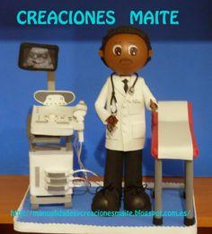FOFUCHAS. Manualidades y Creaciones Maite: FOFUCHO MEDICO DE FAMILIA