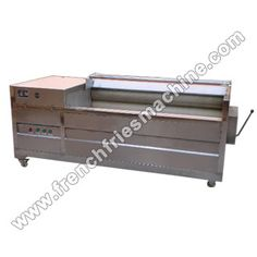 Introduction of Brush Potato Washing and Peeling Machine Brush washing and peeling machine is designed according to the market demands, mainly used in large capacity potato chips/French fries. Potato Chips Machine, Brush Type, Banana Chips, Wash Brush, Peeling Potatoes, French Fries, Shoe Rack, Link, French Fries Crisps