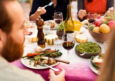 6 Sommelier-Approved Budget Wines for Thanksgiving — And 2 to Splurge On — Kitchn Shredded Brussel Sprout Salad, Sprouts Salad, Potluck Dishes, Party Dishes, Knoephla Soup, Potato Gravy, The Joy Of Baking, Food Policy, Grain Salad