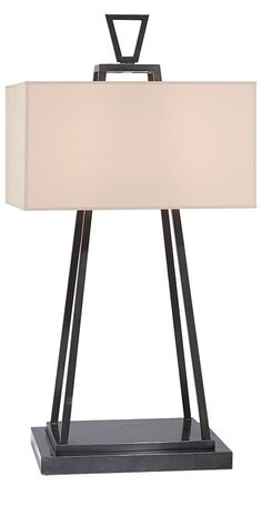 instyle gray table lamps modern gray table