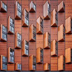Lensblr - Toblerone Town #whparchitecture (bij London,...