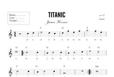 Image detail for -Learn To Read Sheet Music (music) Saxophone Music, Violin Sheet Music, The Piano, Kids Piano, Music For Kids, Kids Songs, Titanic, Piano Tabs, Beginner Piano Music
