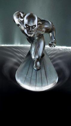 Silver Surfer Saturn by uncannyknack