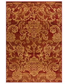 """LIVING ROOM - MANUFACTURER'S CLOSEOUT! Kenneth Mink Area Rug, Northport LON-101 Red 7'10"""" x 10'10"""" - 8 x 10 Rugs - Rugs - Macy's"""