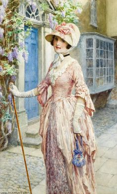 British Painter William Henry Margetson (1861-1940) ~ Blog of an Art Admirer