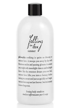 Philosophy Falling in Love Summer Firming Body Emulsion, $34, sephora.com