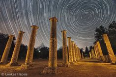 Astrophotography by loukas hapsis, Olympia, Greece The Son Of Man, Ancient Architecture, Olympic Games, Love Photography, Homeland, Civilization, Literature, Cruise, Amazing