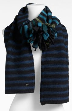Sonia Rykiel 'Pompom' Wool Knit Scarf available at #Nordstrom