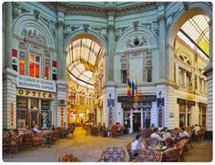 ROMANIA: Lovely European cafe scene in Bucharest, one of the last major European cities that hasn't been pasteurized by gentrification or lost its soul to mass tourism. Places Around The World, Travel Around The World, The Places Youll Go, Places To Visit, Around The Worlds, Capital Of Romania, European Cafe, Little Paris, Bucharest Romania