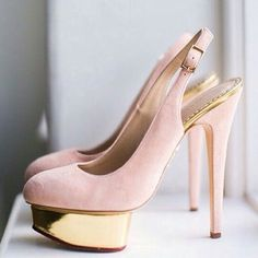 NEED these pink suede @charlotte_olympia beauties in my closet stat. Repost from @kwhbridal #shoeenvy #inspiration #weddings #weddingshoes #bridalmusingsloves