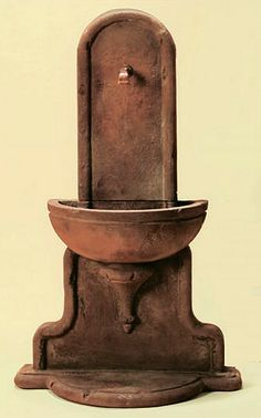 Bare yet elegant, the Livia Wall Outdoor Water Fountain makes a stunning accent on an empty garden wall or boring fence.