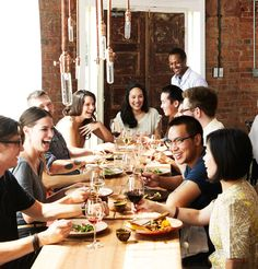 A great way to entertain your guests at a #dinner #party is with a theme.  A signature dish is a good way to get the conversation started. Interesting food gets people talking! Check out these other #dinnerpartythemes (via @tlc)