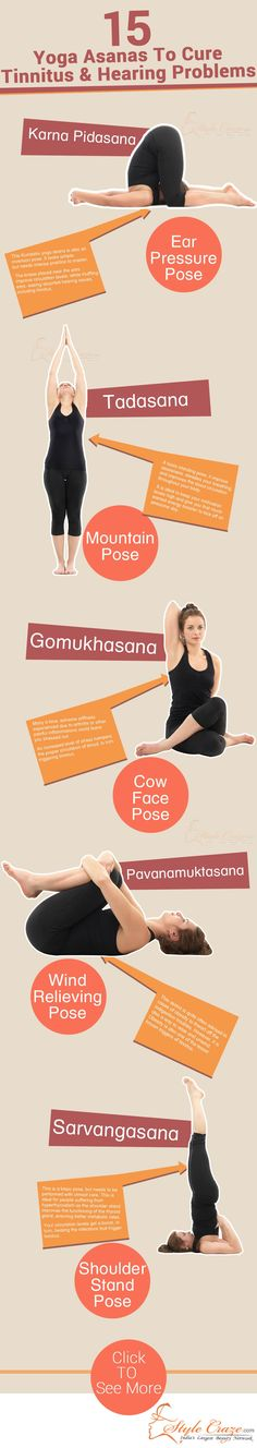 15 Yoga Asanas To Cure Tinnitus & Hearing Problems