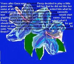 The proposal from Percy to Annabeth.  Omg!!!!! So adorable!!!! <3 <3 <3