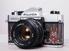 Fujica STX-1N 50/1.9 functional vintage analog 35 mm film