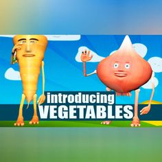 awesome Kids General Study - Introducing Vegetables..