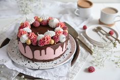 Cake Decorating Tips, Sweet And Salty, Something Sweet, Yummy Cakes, Cupcake Cakes, Cheesecake, Dessert Recipes, Yummy Food, Sweets