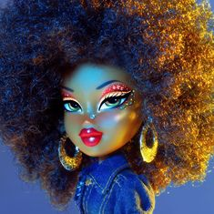 """Fantastic """"bratz dolls"""" detail is available on our web pages. Check it out and you wont be sorry you did. Black Girl Cartoon, Black Girl Art, Art Girl, Bratz Doll Makeup, Bratz Doll Outfits, Vb Collection, Black Bratz Doll, Brat Doll, Bratz Girls"""