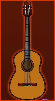 What can I say about the acoustic guitar? That is a tough question, well; I can tell you the history of the guitar, yes, let's do that. Guitars are Acoustic Guitar Cake, Acoustic Guitar Lessons, Guitar Songs, Guitar Case, Ukulele, Guitar Drawing, Guitar Painting, Musical Instruments Drawing, Guitar Youtube
