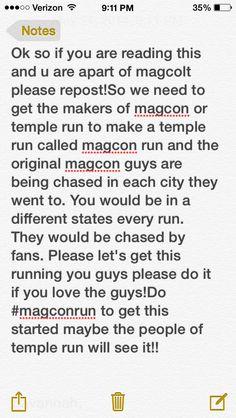 #magconrun