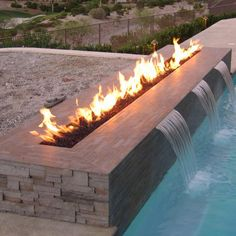 Fire for the pool... fabulousness!!