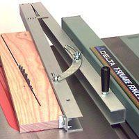 Table Saw Taper Jig #woodworkingtools