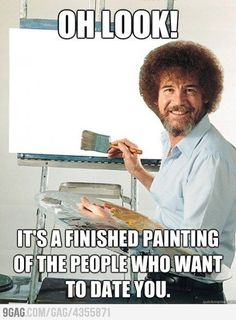 gina, it's our painter!