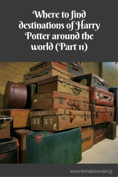 Where to find destinations of Harry Potter around the world (Part 2) *Translation button at the top*