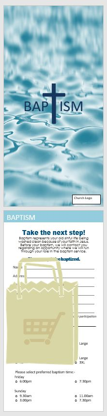 Beautiful Baptism Interest Card invites people to be baptised with options and information showing on the rear of the card. Baptism Cards, Church Logo, Image Cover, Baptisms, The Next Step, Archive, Australia, Ads, Prints