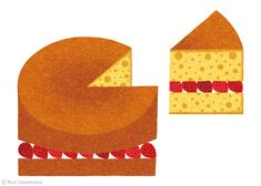 The Waitrose Way by Ryo Takemasa, via Behance: Children's Book Illustration, Food Illustrations, Graphic Design Illustration, Ryo Takemasa, Food Drawing, Food Art, Illustrators, Art Drawings, Creative