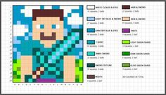 If you have Minecraft crazy kids or a partner for that matter than you are going to love this FREE pattern. The colors look amazing. Minecraft Crochet Blanket Pattern … Read More...