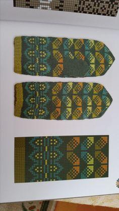Mittens Pattern, Knit Mittens, Knitted Gloves, Knitting Charts, Hand Knitting, Knitting Patterns, Fair Isle Knitting, Wool Yarn, Knit Crochet